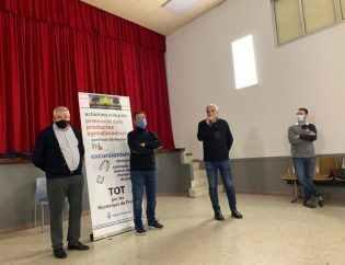 D'esquerra a dreta: Josep Moragas, Josep Pere Colat, Àngel Xifré i Josep Bigorra.